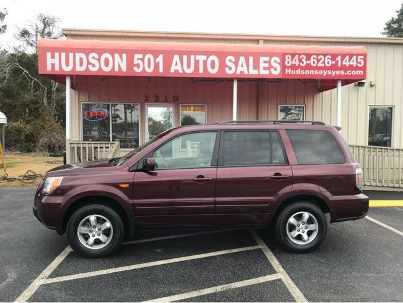 2008 Honda Pilot EX-L | Myrtle Beach, South Carolina | Hudson Auto Sales in Myrtle Beach South Carolina