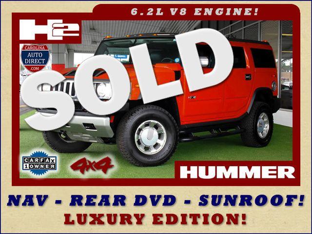 2008 Hummer H2 SUV LUXURY EDITION 4X4 - NAV-DVD-SUNROOF! Mooresville , NC 0
