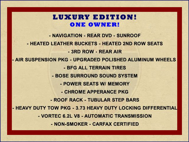 2008 Hummer H2 SUV LUXURY EDITION 4X4 - NAV-DVD-SUNROOF! Mooresville , NC 1