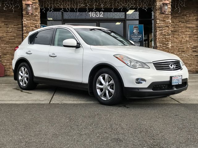 2008 INFINITI EX35 Journey The CARFAX Buy Back Guarantee that comes with this vehicle means that y