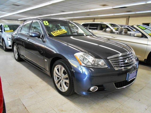 2008 INFINITI M35 Limited warranty included to assure your worry-free purchase AutoCheck report i