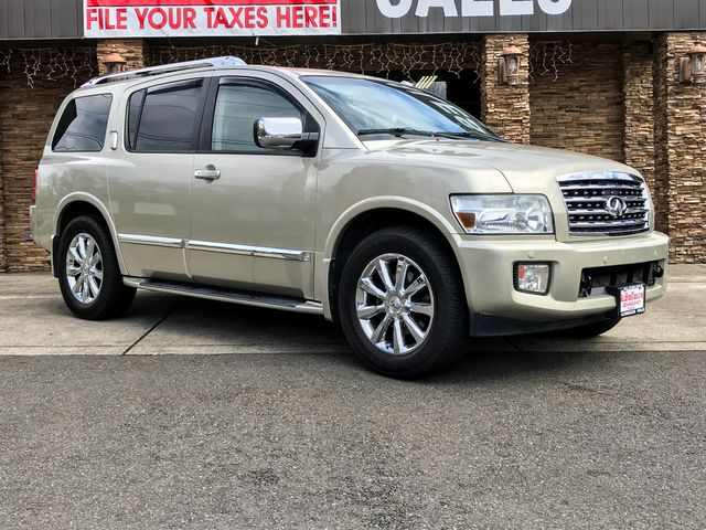 2008 INFINITI QX56 4WD The CARFAX Buy Back Guarantee that comes with this vehicle means that you c