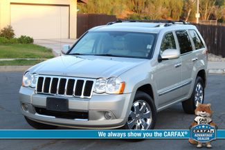 2008 Jeep GRAND CHEROKEE OVERLAND DVD NAVIGATION XENON LEATHER SERVICE RECORDS Woodland Hills, CA