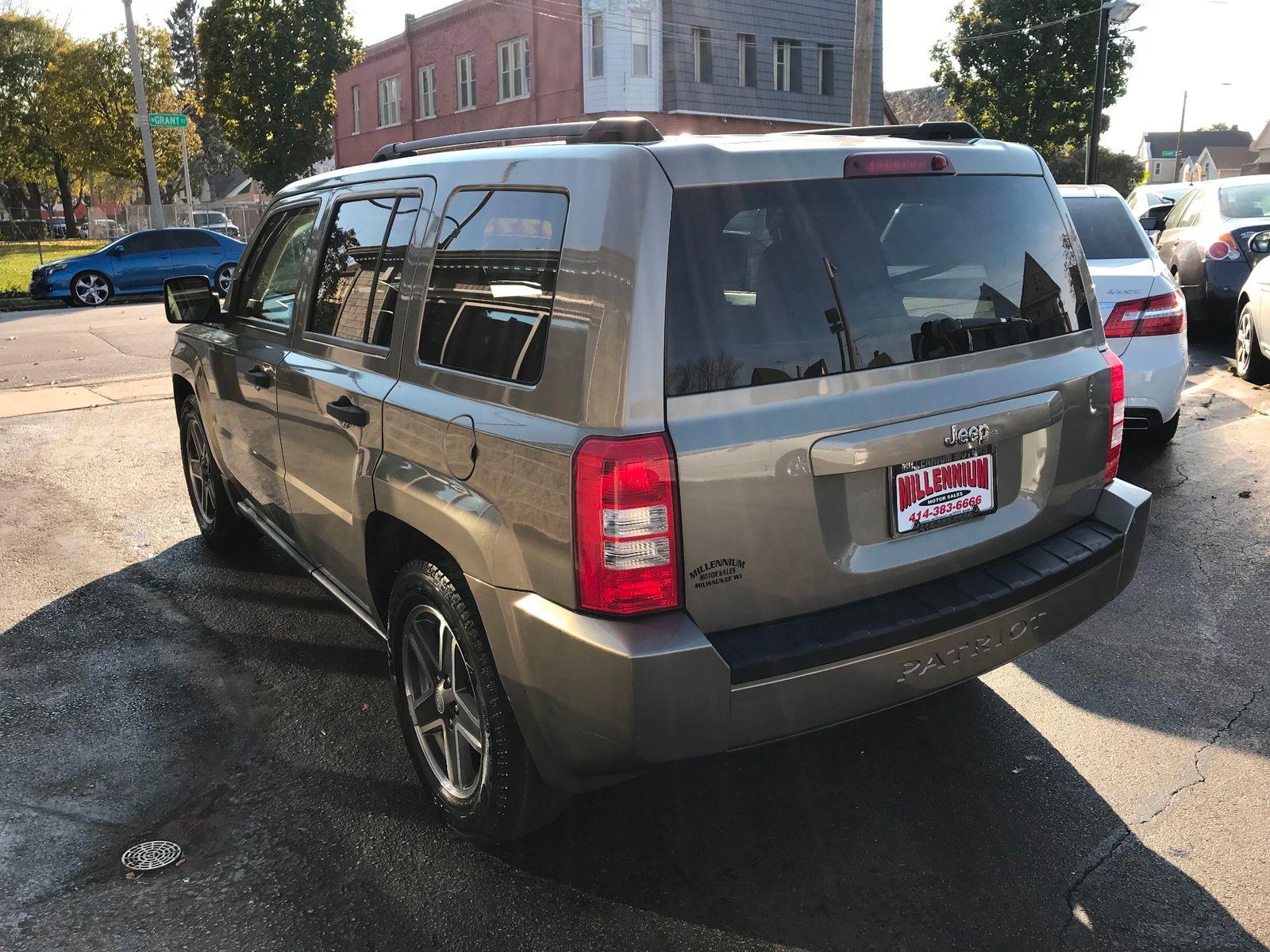 2008 jeep patriot sport city wisconsin millennium motor s