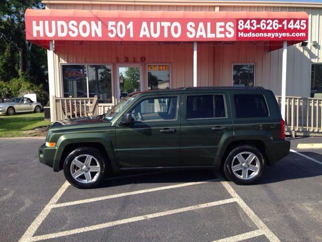 2008 Jeep Patriot Sport   Myrtle Beach, South Carolina   Hudson Auto Sales in Myrtle Beach South Carolina