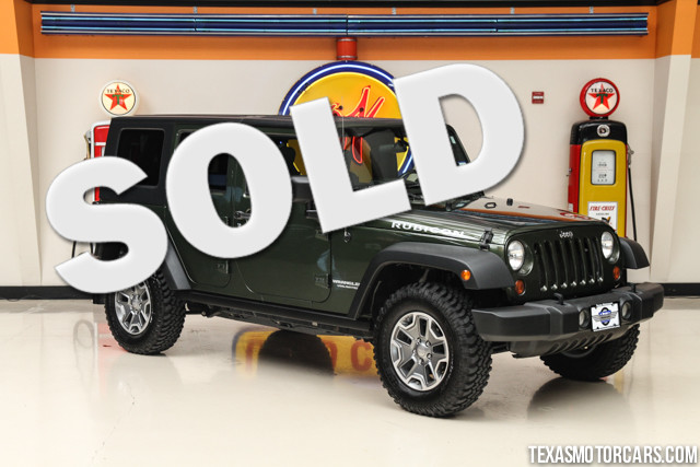 2008 Jeep Wrangler Unlimited Rubicon This Carfax 1-Owner accident-free 2008 Jeep Wrangler Unlimite