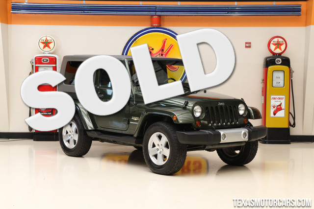 2008 Jeep Wrangler Sahara This clean Carfax 2008 Jeep Wrangler Sahara is in great shape with only