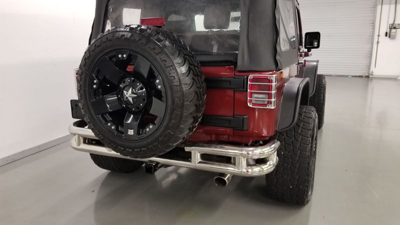 2008 Jeep Wrangler automatic LIFTED 4x4 CUSTOM | Palmetto, FL | EA Motorsports in Palmetto, FL