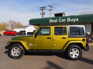 2008 Jeep Wrangler Unlimited Sahara Englewood, CO 1