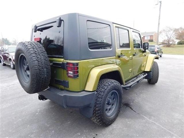 2008 Jeep Wrangler Unlimited Sahara Ephrata, PA 3