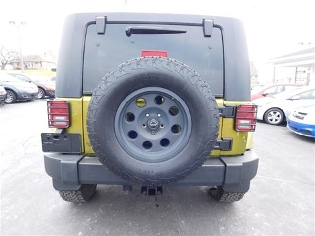 2008 Jeep Wrangler Unlimited Sahara Ephrata, PA 4