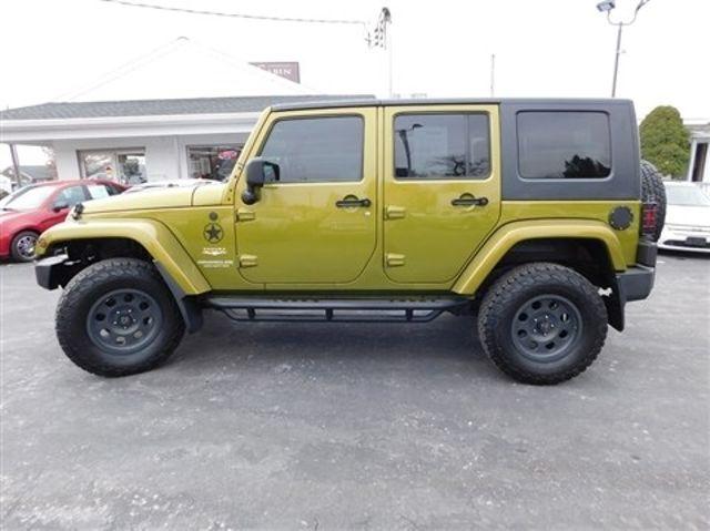 2008 Jeep Wrangler Unlimited Sahara Ephrata, PA 6