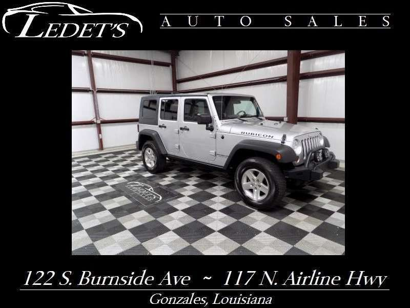 2008 Jeep Wrangler Unlimited Rubicon - Ledet's Auto Sales Gonzales_state_zip in Gonzales Louisiana