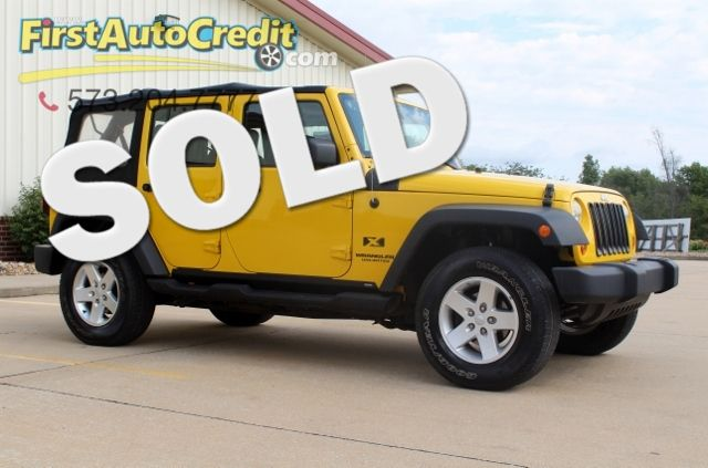 2008 Jeep Wrangler Unlimited X | Jackson , MO | First Auto Credit in Jackson  MO