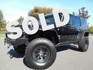 2008 Jeep Wrangler Unlimited Sahara Lifted/W Winch Leesburg, Virginia