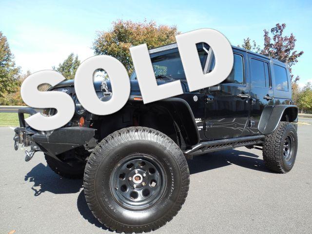 2008 Jeep Wrangler Unlimited Sahara Lifted/W Winch Leesburg, Virginia 0