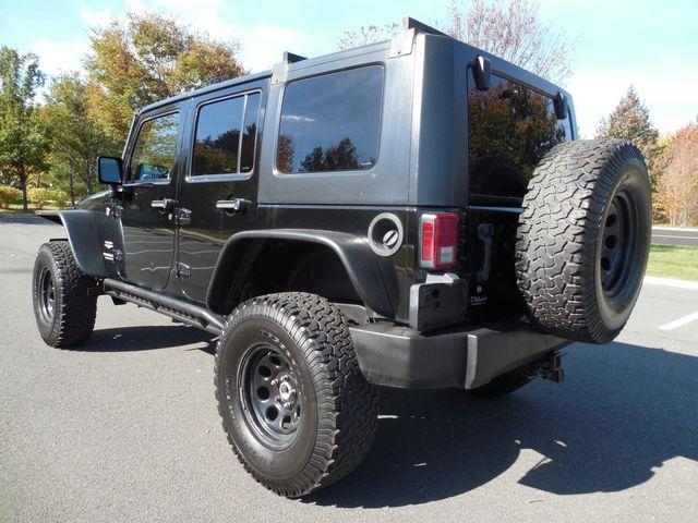 2008 Jeep Wrangler Unlimited Sahara Lifted/W Winch Leesburg, Virginia 4