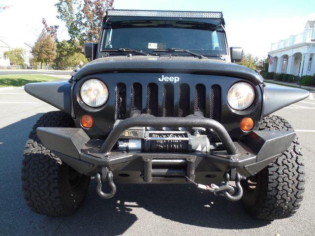 2008 Jeep Wrangler Unlimited Sahara Lifted/W Winch Leesburg, Virginia 6