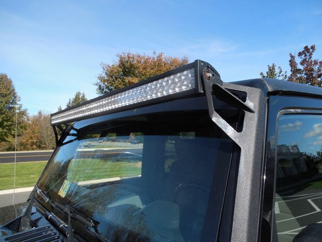 2008 Jeep Wrangler Unlimited Sahara Lifted/W Winch Leesburg, Virginia 8