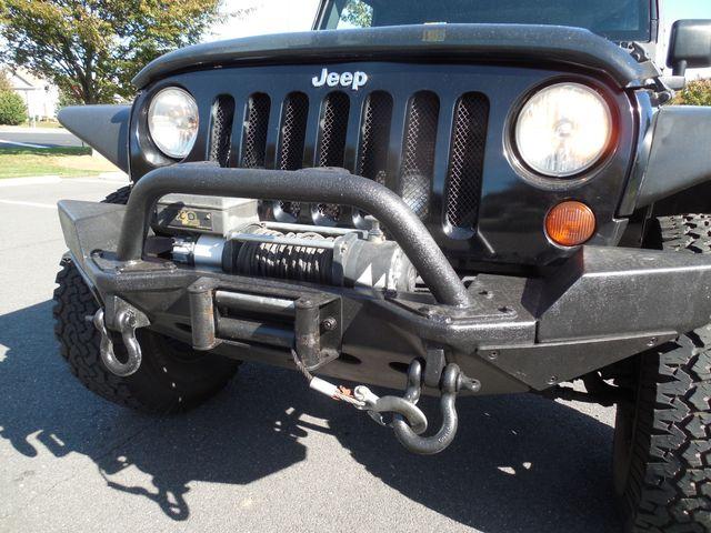2008 Jeep Wrangler Unlimited Sahara Lifted/W Winch Leesburg, Virginia 10
