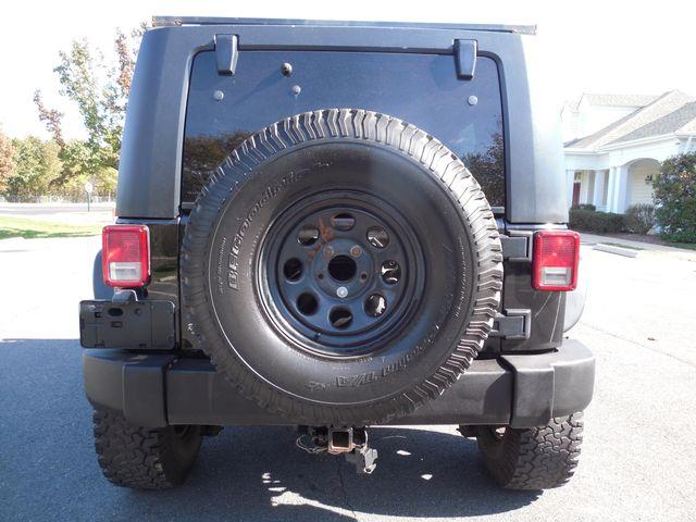 2008 Jeep Wrangler Unlimited Sahara Lifted/W Winch Leesburg, Virginia 14