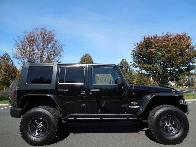 2008 Jeep Wrangler Unlimited Sahara Lifted/W Winch Leesburg, Virginia 18
