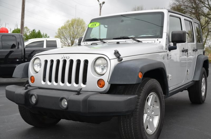 2008 Jeep Wrangler Unlimited X 4x4  in Maryville, TN