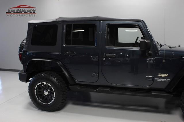 2008 Jeep Wrangler Unlimited Sahara Merrillville, Indiana 35