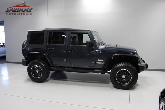 2008 Jeep Wrangler Unlimited Sahara Merrillville, Indiana 40