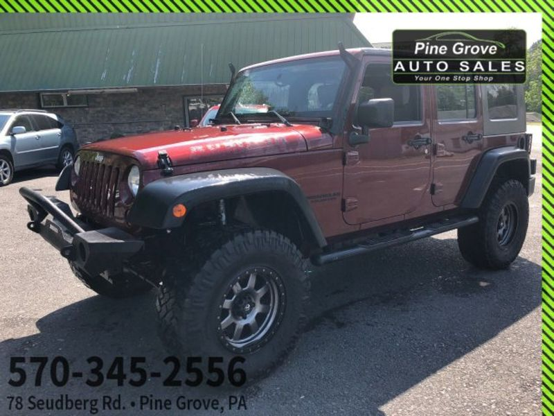 2008 Jeep Wrangler Unlimited Rubicon | Pine Grove, PA | Pine Grove Auto Sales in Pine Grove, PA