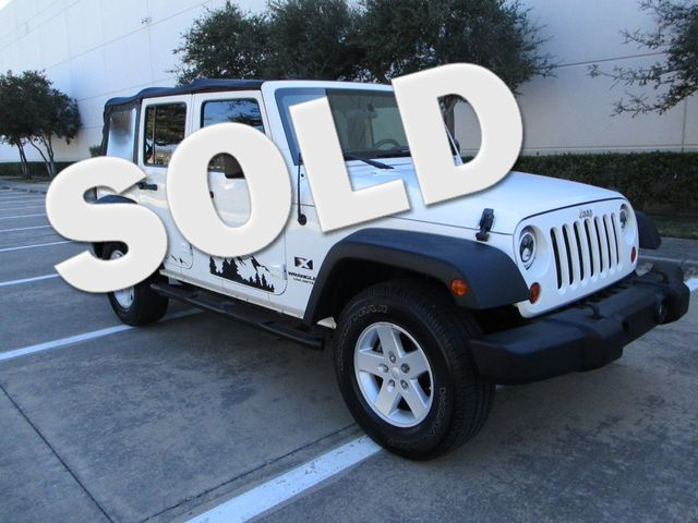 2008 Jeep Wrangler Unlimited X Plano, Texas 0