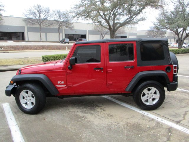 2008 Jeep Wrangler Unlimited X Plano, Texas 7