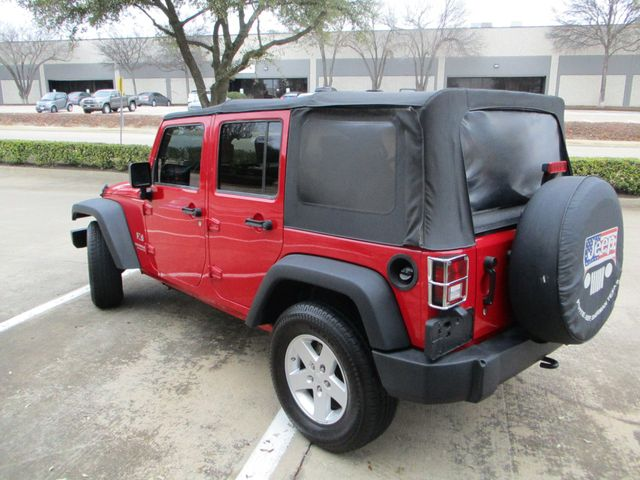 2008 Jeep Wrangler Unlimited X Plano, Texas 8