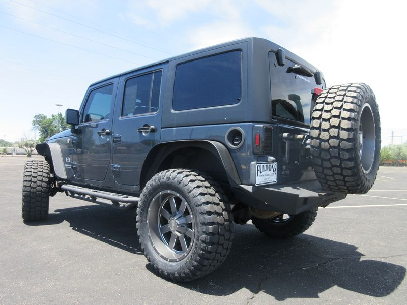 2008 Jeep Wrangler Unlimited 4X4 Lifted  Fultons Used Cars Inc  in , Colorado