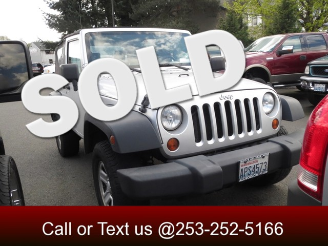 2008 Jeep Wrangler X 4WD If you are still looking for that classic Jeep look but want something m