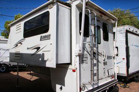 2008 Lance 1181 Long Bed Truck Camper - Gen, Solar, Awning  | Colorado Springs, CO | Golden's RV Sales in Colorado Springs, CO