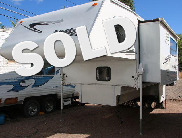 2008 Lance 1181 Long Bed Truck Camper - Gen, Solar, Awning  | Colorado Springs, CO | Golden's RV Sales in Colorado Springs CO