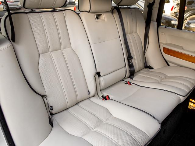 2008 Land Rover Range Rover HSE Burbank, CA 22