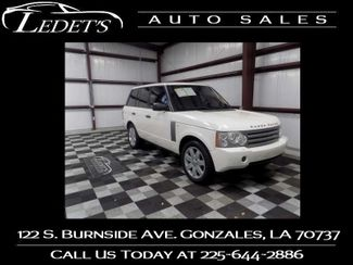 2008 Land Rover Range Rover in Gonzales Louisiana