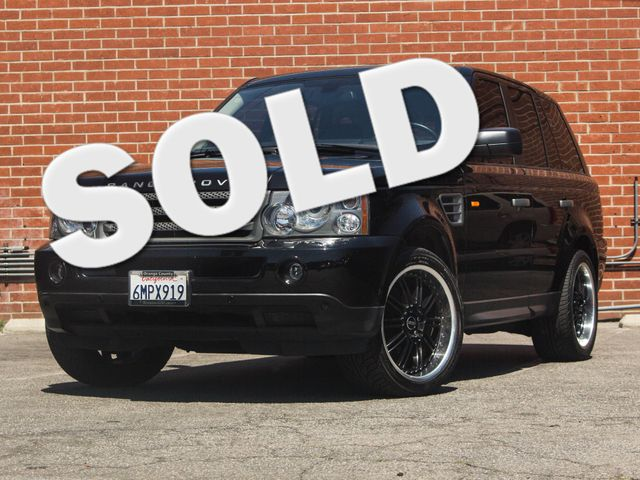 2008 Land Rover Range Rover Sport HSE Burbank, CA 0