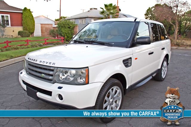 2008 Land Rover RANGE ROVER SPORT HSE NAVIGAION ALLOY WHLS SUNROOF SERVICE RECORDS! Woodland Hills, CA 0