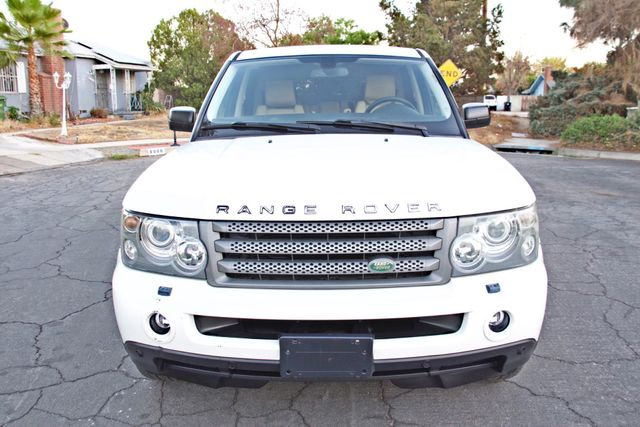 2008 Land Rover RANGE ROVER SPORT HSE NAVIGAION ALLOY WHLS SUNROOF SERVICE RECORDS! Woodland Hills, CA 6