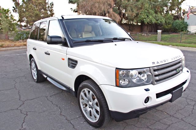 2008 Land Rover RANGE ROVER SPORT HSE NAVIGAION ALLOY WHLS SUNROOF SERVICE RECORDS! Woodland Hills, CA 5
