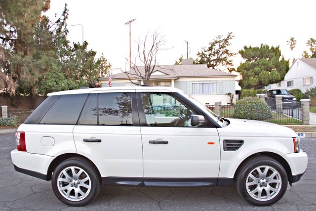 2008 Land Rover RANGE ROVER SPORT HSE NAVIGAION ALLOY WHLS SUNROOF SERVICE RECORDS! Woodland Hills, CA 4