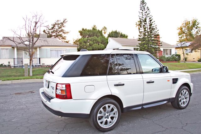 2008 Land Rover RANGE ROVER SPORT HSE NAVIGAION ALLOY WHLS SUNROOF SERVICE RECORDS! Woodland Hills, CA 3