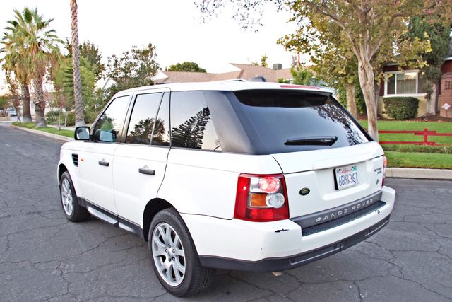 2008 Land Rover RANGE ROVER SPORT HSE NAVIGAION ALLOY WHLS SUNROOF SERVICE RECORDS! Woodland Hills, CA 2