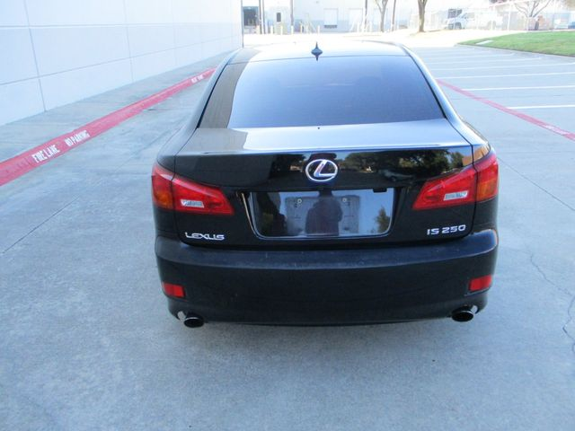 2008 Lexus IS 250 Low mi Sunroof Clean Car Fax Plano, Texas 3