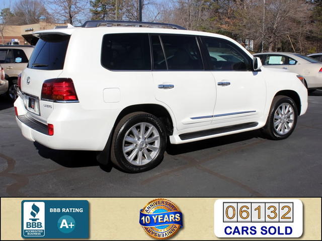 2008 Lexus LX 570 4WD - TECH PKG - REAR DVD - HEATED/COOLED LEATHER! Mooresville , NC 1