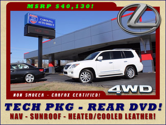 2008 Lexus LX 570 4WD - TECH PKG - REAR DVD - HEATED/COOLED LEATHER! Mooresville , NC