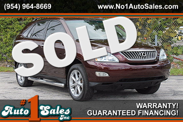 2008 Lexus RX 350  WARRANTY CARFAX CERTIFIED 2 OWNERS 15 SERVICE RECORDS FLORIDA VEHICLE T